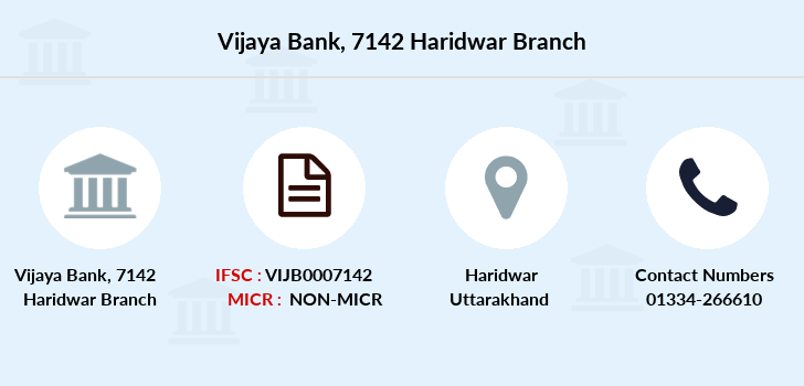 Vijaya-bank 7142-haridwar branch