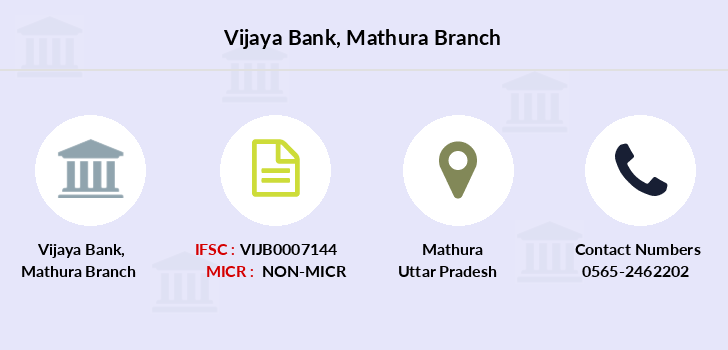 Vijaya-bank Mathura branch