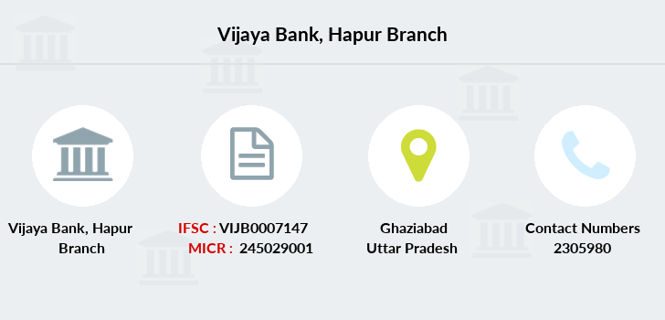 Vijaya-bank Hapur branch