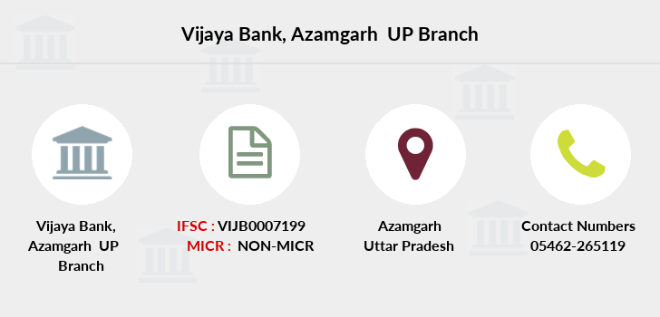 Vijaya-bank Azamgarh-up branch