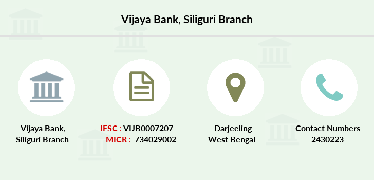 Vijaya-bank Siliguri branch