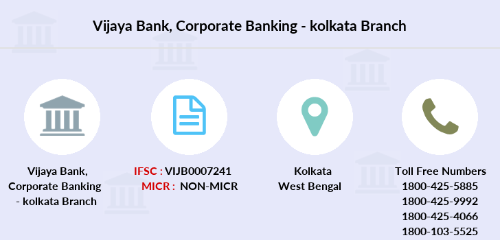 Vijaya-bank Corporate-banking-kolkata branch