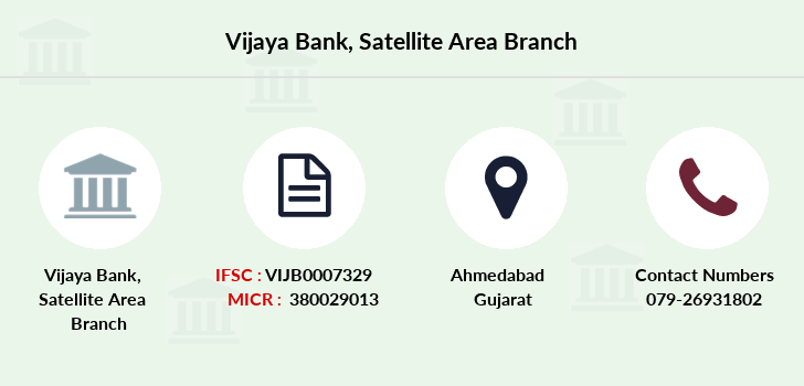 Vijaya-bank Satellite-area branch
