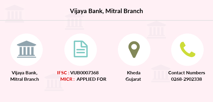 Vijaya-bank Mitral branch