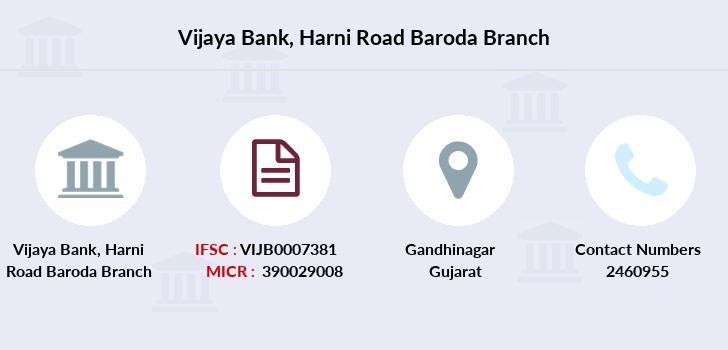 Vijaya-bank Harni-road-baroda branch