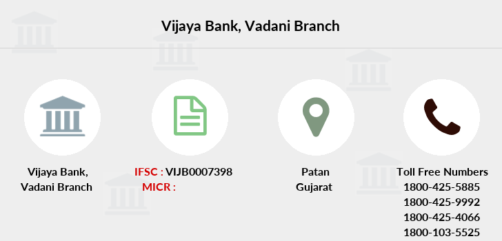 Vijaya-bank Vadani branch