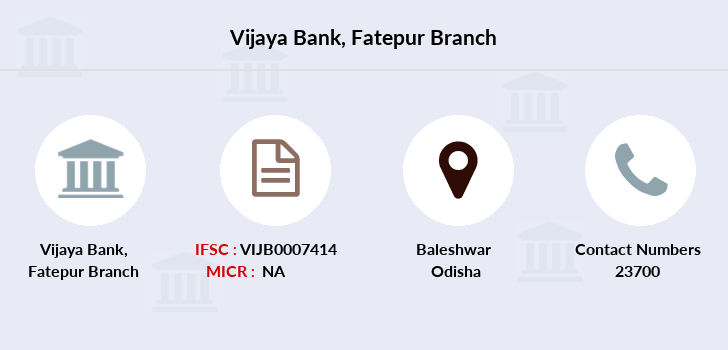 Vijaya-bank Fatepur branch