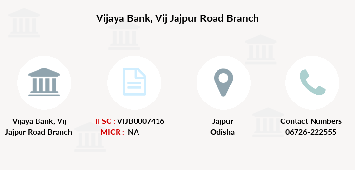 Vijaya-bank Vij-jajpur-road branch