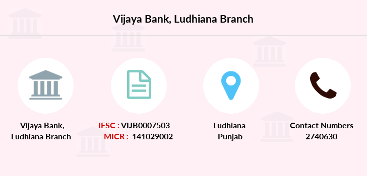 Vijaya-bank Ludhiana branch