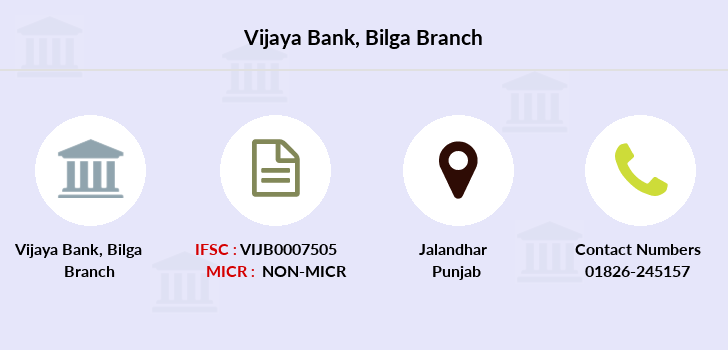 Vijaya-bank Bilga branch