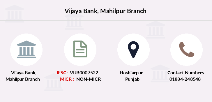 Vijaya-bank Mahilpur branch