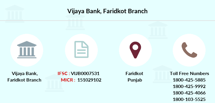 Vijaya-bank Faridkot branch