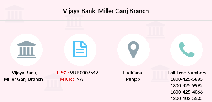 Vijaya-bank Miller-ganj branch