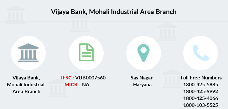 Vijaya-bank Mohali-industrial-area branch