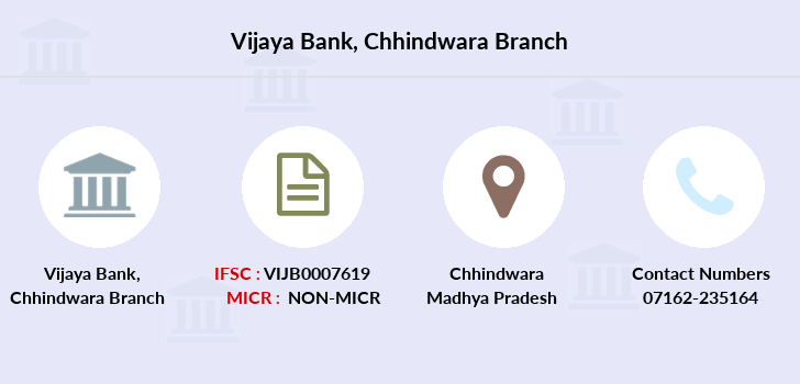 Vijaya-bank Chhindwara branch