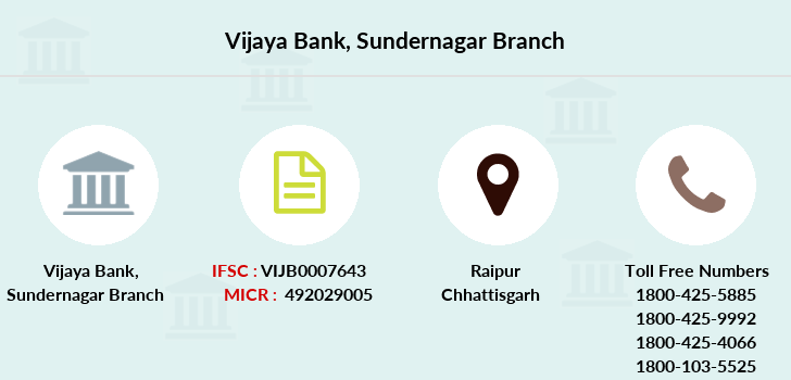 Vijaya-bank Sundernagar branch