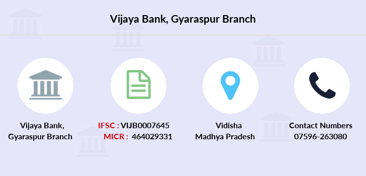 Vijaya-bank Gyaraspur branch