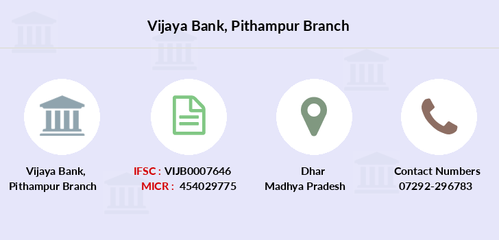 Vijaya-bank Pithampur branch