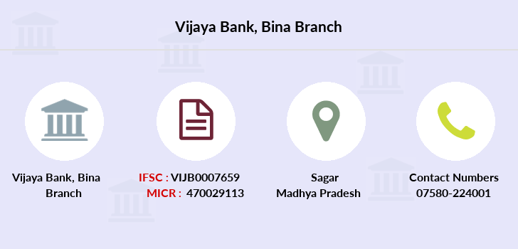 Vijaya-bank Bina branch