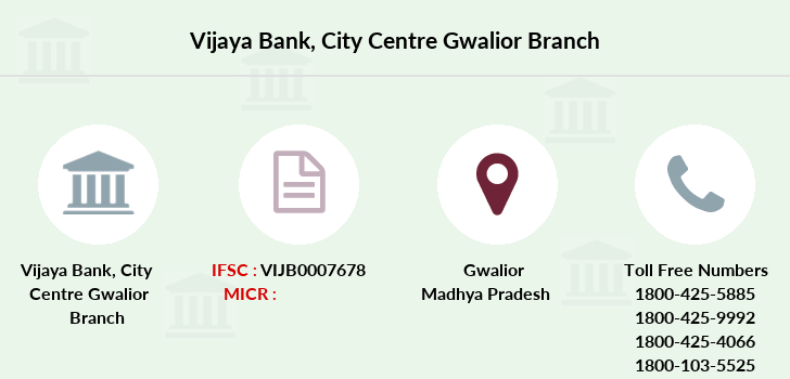 Vijaya-bank City-centre-gwalior branch