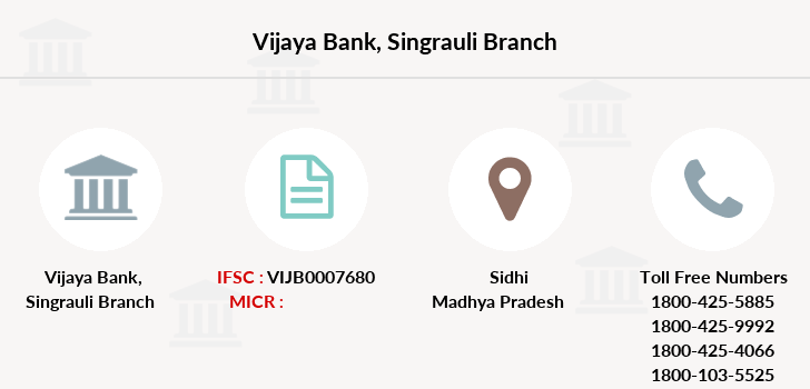Vijaya-bank Singrauli branch
