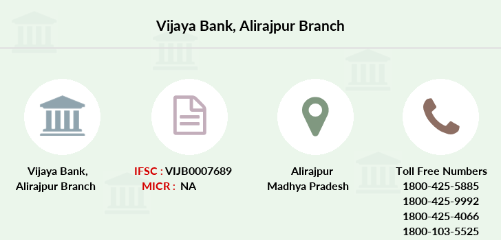 Vijaya-bank Alirajpur branch