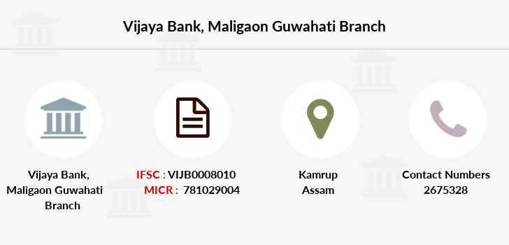 Vijaya-bank Maligaon-guwahati branch