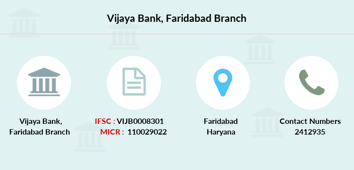 Vijaya-bank Faridabad branch