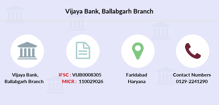 Vijaya-bank Ballabgarh branch
