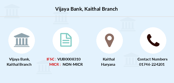 Vijaya-bank Kaithal branch
