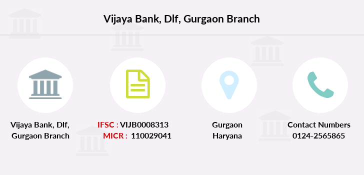 Vijaya-bank Dlf-gurgaon branch