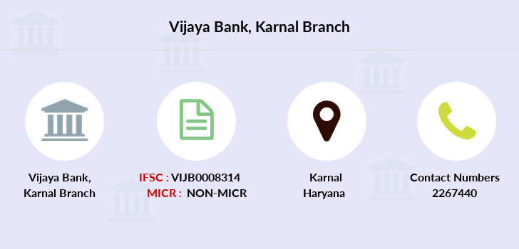 Vijaya-bank Karnal branch