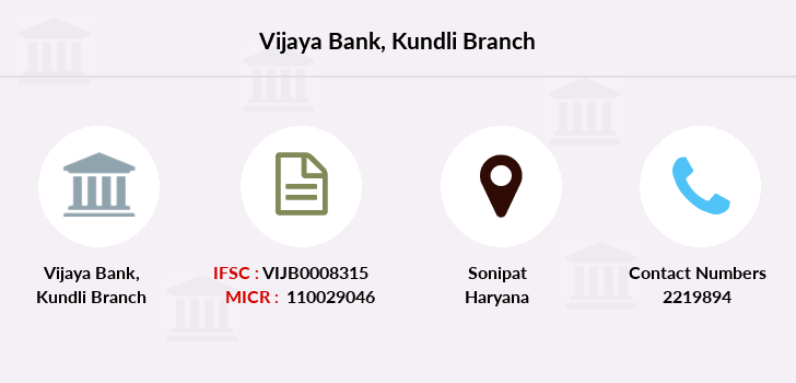 Vijaya-bank Kundli branch