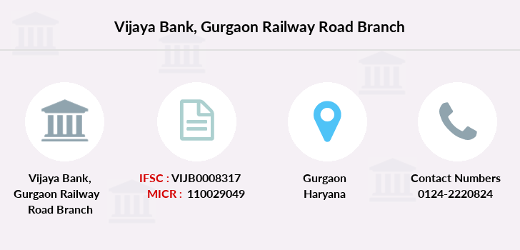 Vijaya-bank Gurgaon-railway-road branch