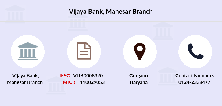 Vijaya-bank Manesar branch