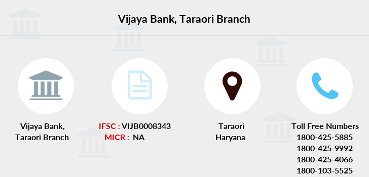 Vijaya-bank Taraori branch