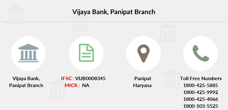 Vijaya-bank Panipat branch