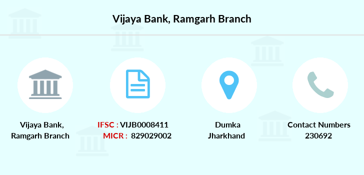 Vijaya-bank Ramgarh branch
