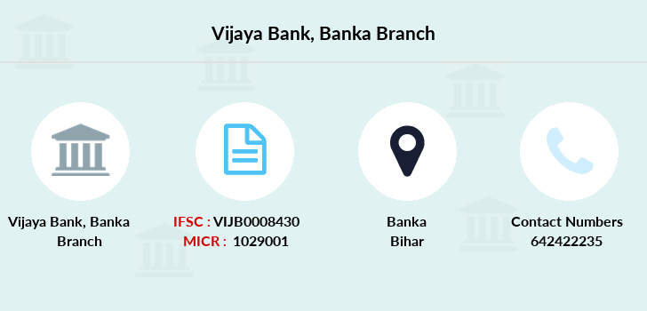 Vijaya-bank Banka branch