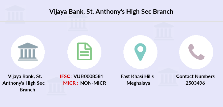 Vijaya-bank St-anthony-s-high-sec branch