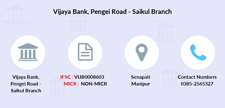 Vijaya-bank Pengei-road-saikul branch