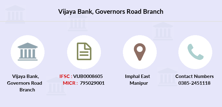 Vijaya-bank Governors-road branch
