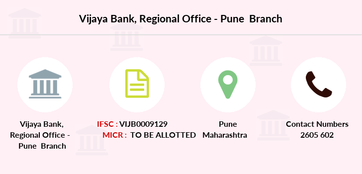 Vijaya-bank Regional-office-pune branch