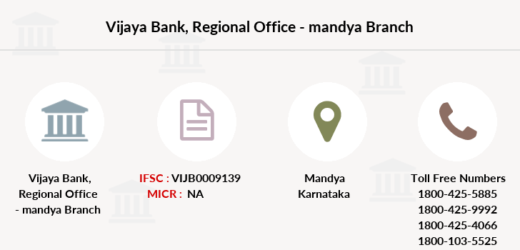 Vijaya-bank Regional-office-mandya branch