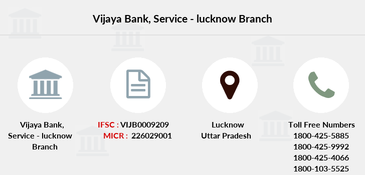 Vijaya-bank Service-lucknow branch