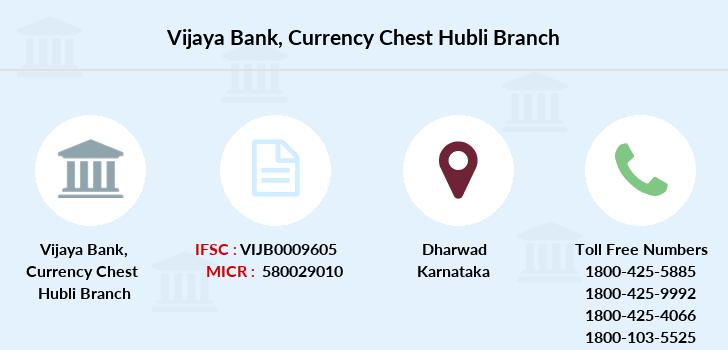 Vijaya-bank Currency-chest-hubli branch