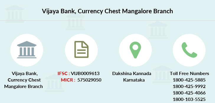 Vijaya-bank Currency-chest-mangalore branch