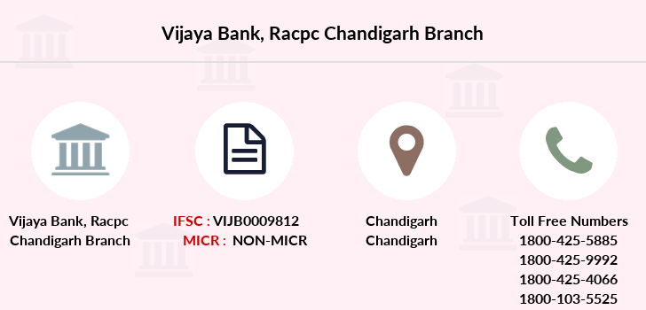 Vijaya-bank Racpc-chandigarh branch
