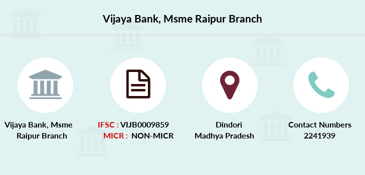 Vijaya-bank Msme-raipur branch