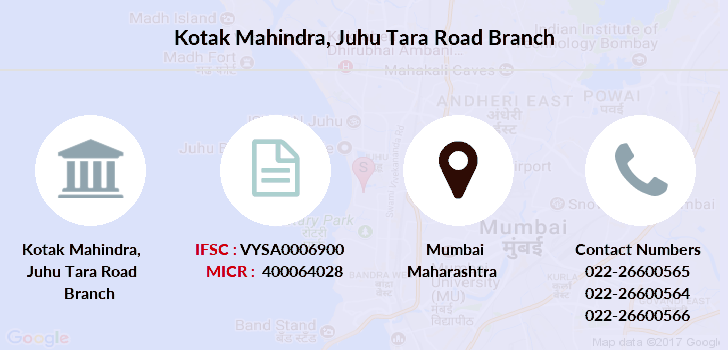 Kotak-mahindra-bank Juhu-tara-road branch